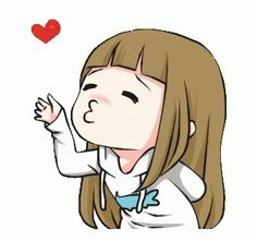 LINE Creators' Stickers - Millie Porden Couple Edition - Animated Example with GIF Animation Cartoon Kiss Gif, Cartoon Gifs, Animated Emojis, Animated Gif, Cute Love Gif, I Miss You Cute, Flying Kiss Gif, Aot Gifs, Gif Bonito