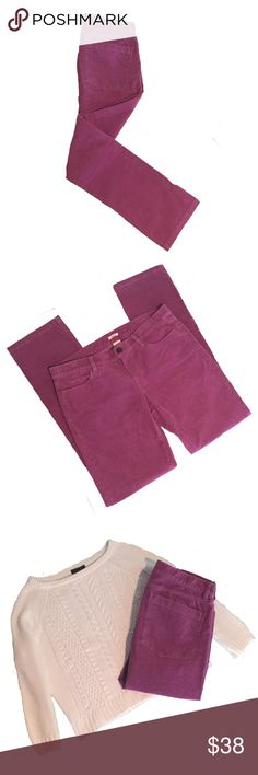 """✨JCrew Matchstick Cords✨ ✨Cotton with a hint of stretch. ✨Sits at hip. ✨Straight through hip and thigh, with    a straight, narrow leg. ✨Approx 33"""" inseam. ✨Approx. 17.5"""" Across Waist Hip-to-Hip  ✨Traditional 5-pocket styling. ✨Free Of Any Defects/Perfect Condition  ✨Machine wash J. Crew Pants Straight Leg"""