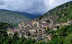 Télécharger fonds d'écran Sauerge, montagnes, ville, France