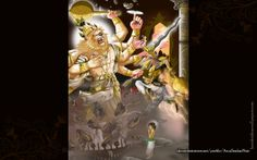 To view Narasimha Deva wallpapers in difference sizes visit - http://harekrishnawallpapers.com/sri-narasimha-deva-artist-wallpaper-005/