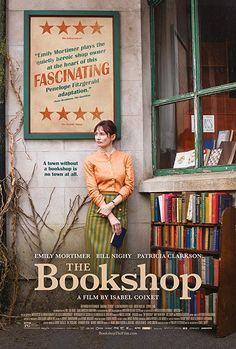 England In a small East Anglian town, Florence Green decides, against polite but ruthless local opposition, to open a bookshop. Movie To Watch List, Good Movies To Watch, Great Movies, Movie List, Site Pour Film, Netflix Dramas, Period Movies, Movies Worth Watching, Film Books