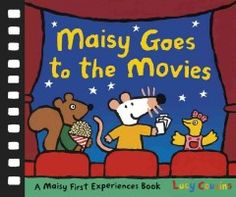 June 3, 2015. Maisy and her friends are so excited! They're going to see a fun adventure film.