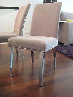 Comedor de expormim mesa cuadrada extensible y sillas for Comedores circulares modernos