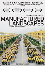 Manufactured Landscapes Poster