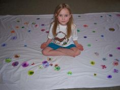 I know a boy who wants to make a tye dye a crib sheet for his new cousin...