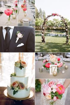 Inspirational Wedding Ideas #221: Peony-Filled Garden Wedding - http://www.diyweddingsmag.com/inspirational-wedding-ideas-221-peony-filled-garden-wedding/