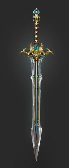Saber. Essa poderosa espada sagrada surgiu durante a Guerra da Lâmina, nas mãos do General de Estado Maior de Avon-Doyle. Atualmente, ela é um símbolo de status de Adovon, entregue ao Chefe do Estado Maior (usualmente, o rei).