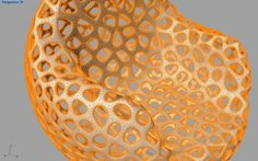 Smooth, and thicken a Voronoi surface - Grasshopper