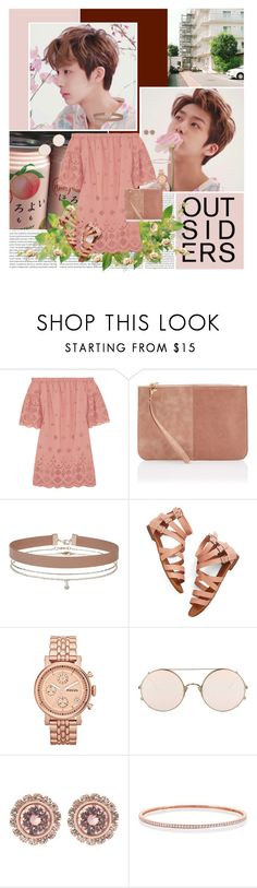 """Because it's you, I think I'm going to go crazy"" by angiielf ❤ liked on Polyvore featuring Oris, Madewell, Miss Selfridge, FOSSIL, Sunday Somewhere and Ted Baker"