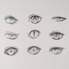 Realistic Drawing Tips Doodle of some semi-realistic eyes Eye Drawing Tutorials, Drawing Techniques, Drawing Tips, Art Tutorials, Drawing Sketches, Cool Drawings, Drawing Ideas, Anatomy Drawing, Manga Drawing