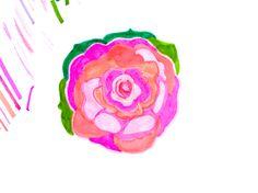 art for beach rose tooth powder