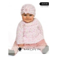 Baby Dress & Hat in DY Choice Baby Joy DK (DYP150) Digital Version £2.49