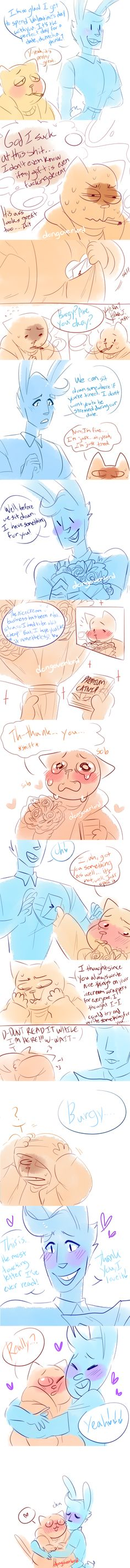 Nicepants Valentines Comic by dongoverlord on DeviantArt
