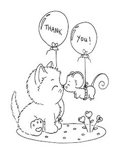 Thank you cat and mouse