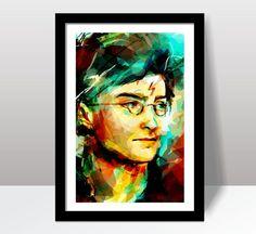 Quadro Decoração Harry Potter H5