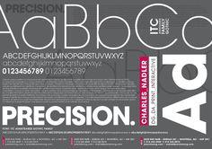 Precision brand identity by Charles Nadler, via Behance