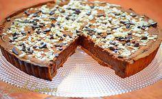 Tarta cu ciocolata - reteta video No Cook Desserts, Dessert Recipes, Jam Tarts, Tart Recipes, Something Sweet, Cheesecakes, Banana Bread, Tasty, Sweets