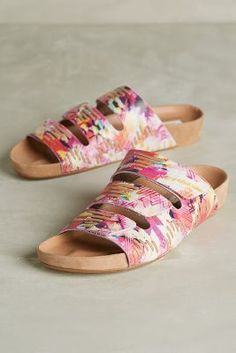 Cynthia Vincent Farica Sandals Pink  #AnthroFave