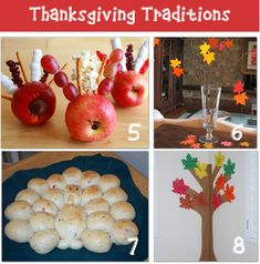 Thanksgiving crafts, food, & and traditions