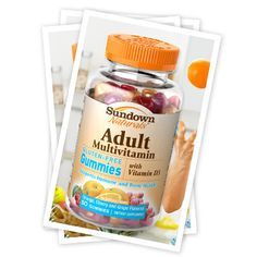 Meet our Adult Multivitamin Gummy- Hardworking Multi-tasker!  Turn ons include yoga and is looking for somebody who doesn't mind leaning on me to add balance to their life. Could you be Adult Multivitamin's ideal mate?