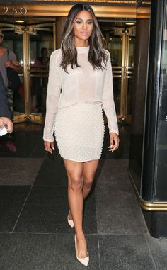 """Ciara from Celebrity Must-Haves for New York Fashion Week  """"I need my Degree deodorant on deck and a good lip color. It can be a nude pencil or a lipstick…I love nudes! And I have to have my paddle hair brush."""""""