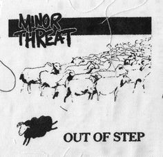 Minor Threat ''Out of Ste'' Patch $1.45 #punk #music #punkpatches #clothing www.drstrange.com