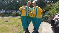 Tweedle dumb and Tweedle dee was at Bondville model village today