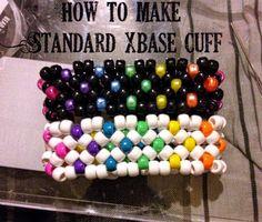 How to make kandi xbase cuff