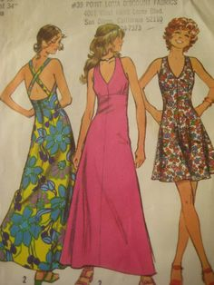 Vintage Simplicity 5037 Sewing Pattern 1970s by sewbettyanddot, $6.50