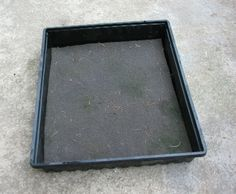 Self Watering Tray_05 Self Watering, Easy Projects, Tray, Gardening, Lawn And Garden, Trays, Board, Horticulture