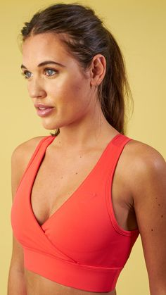 a0bfe4d347efb The close and comfortable fit of the Cross Back Sports Bra provides a snug