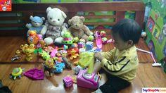 Trò chơi vui, bé chơi các con vật vui nhộn, Fun games, baby animals play...