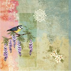 Birdsong print.