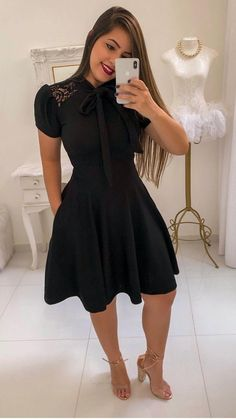 Modest Casual Outfits, Classy Outfits, Jw Moda, Elegant Cocktail Dress, Pentecostal Outfits, Trend Fashion, Church Outfits, Dress Skirt, Vestido Dress