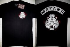 Sons of Anarchy SOA Mayans Tv Show T-Shirt Nwt S M #SonsofAnarchy #GraphicTee