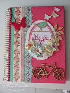 Scrapbook by Andy Donadello: Cadernos personalizados