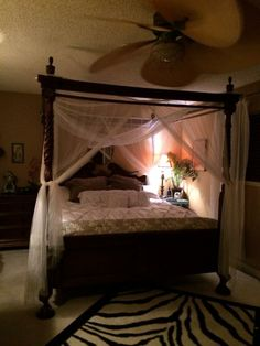 Our romantic bedroom <3