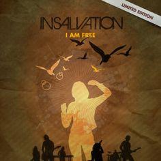 Insalvation | I Am Free - Single #packagingdesign #albumartwork