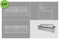 Smallhouse Models' Kickstarter Reward: Digitally Design Your Own Furniture Piece