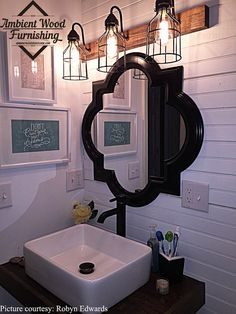 Bathroom Cages Vanity Bar Light Fixture Industrial style