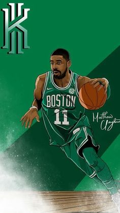 16 Trendy Ideas For Basket Ball Fondos Celtics Street Basketball, Basketball Is Life, Basketball Pictures, Basketball Players, Basketball Schedule, Basketball Rules, Kuroko, Kyrie Irving Celtics, Basket Nba