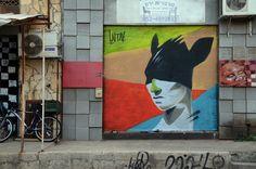"by Untay - ""Rabbit my life"" - Hoodna, South Tel Aviv"