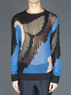 DRIES VAN NOTEN KNITWEAR --- What a FABULOUS and SEXY sweater.