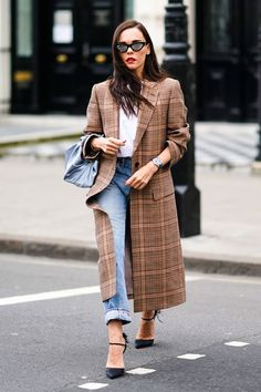 Style your plaid with an ankle-strap heel for a sultrier look.