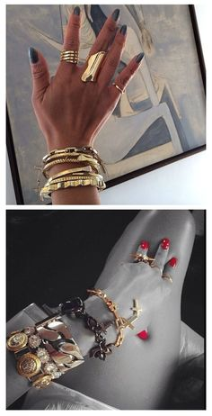 Lynn Ban gold jewelry collection...