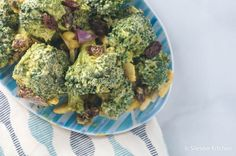 Curried Broccoli Salad | Slender Kitchen