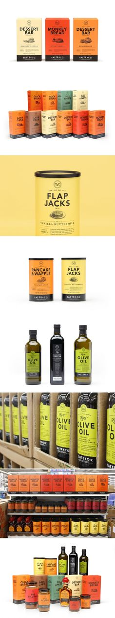 Taste and Co. is Designed With a Handcrafted Feeling In Mind — The Dieline | Packaging & Branding Design & Innovation News