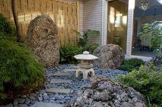 Asian Landscape Design Ideas, Pictures, Remodel and Decor Asian Garden, Japanese Rock Garden, Garden Oasis, Asian Landscape, Landscape Design, Landscaping With Rocks, Garden Landscaping, Landscaping Ideas, Backyard Ideas