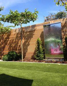 Award Winning Work by Recliffe Landscape Gardeners Garden Wall Designs, Back Garden Design, Small Backyard Design, Small Backyard Landscaping, Garden Landscape Design, Backyard Ideas, Backyard Patio Designs, Back Gardens, Outdoor Gardens