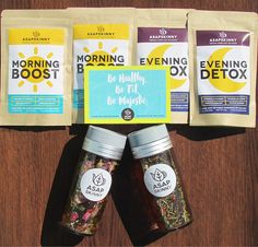 Looking for a Tea Cleanse to Help Lose Weight? Try our 100% All-Natural & Laxative-Free Detox Tea! SHOP HERE ➡ www.asapskinny.com